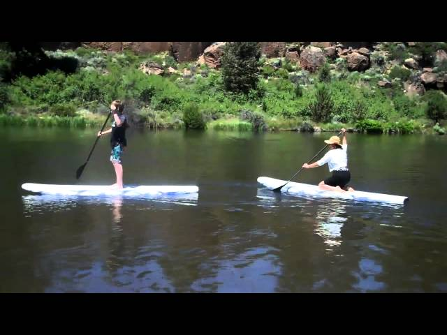 Stand Up Paddle Boarding: Mom's first time!