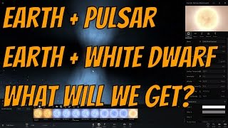 Earth + Pulsar = Hybrid White Dwarf? Alpha 19 BUGS - Universe Sandbox²