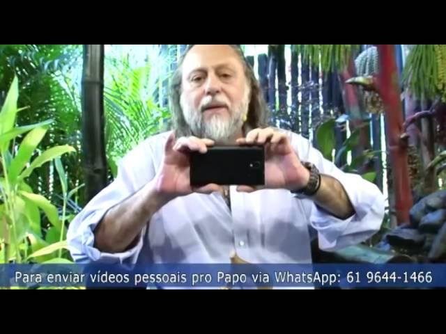 Envie o seu vídeo pessoal para o Whatsapp do Papo de Graça.  É nossa alegria receber!