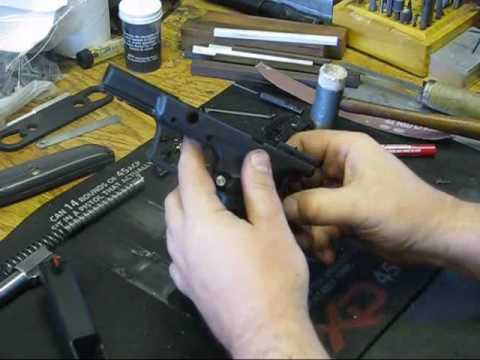 Springfield XDM and  XD grip safety detail assembly instructions by Springer Precision