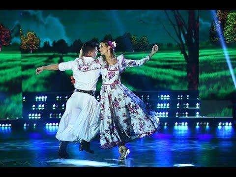 ¡Aro, aro, aro! Chechu Bonelli bailó Folclore con zapada incluída junto a Facu Insúa