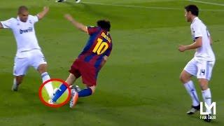 Top 15 Horror Fouls on Lionel Messi by Real Madrid Players (HD)