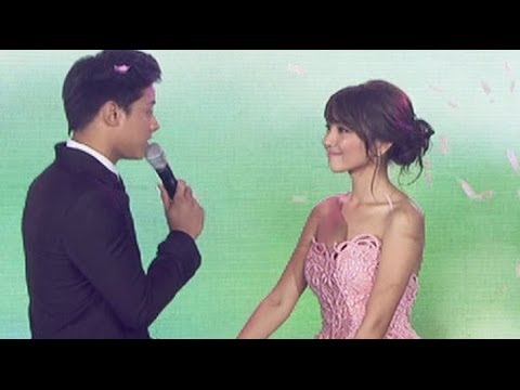 Daniel Padilla sings 'Till There Was You' on Kathryn's debut