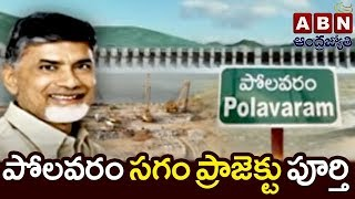 53 38% Polavaram project works completed : officials tell CM