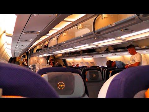 Lufthansa A340-300 long haul inflight experience - Part 1/3