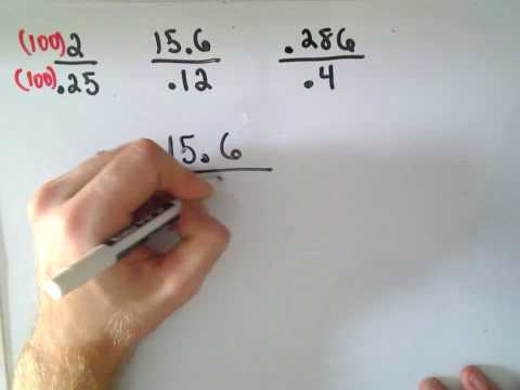 Arithmetic Basics: Dividing Decimals