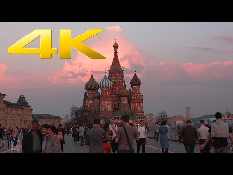 4K | Moscow 2018 in Ultra High Definition