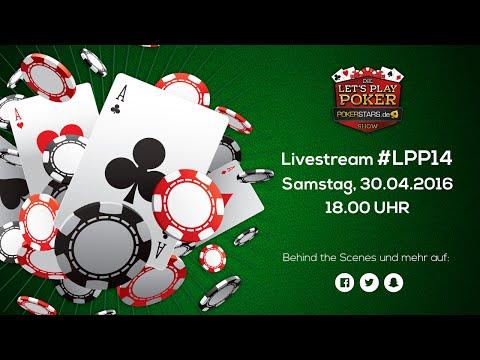 LIVE - Die Let's Play Poker pokerstars.de Show #14 am 30.04 um 18 Uhr | LPP#14