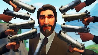 When you SHOOT a John Wick ONCE! - Fortnite Funny Moments