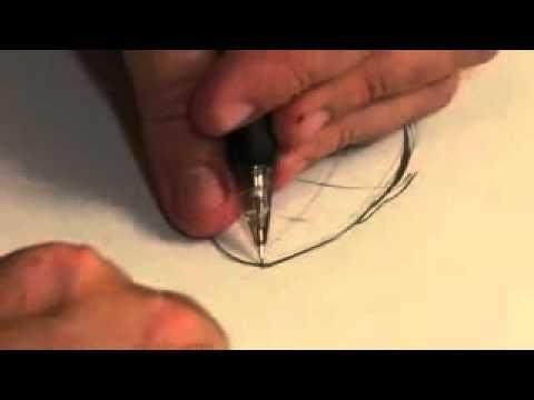 تعليم الرسم  كيف ترسم الوجه 2