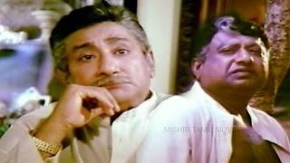 Tamil Super Scene | Gnana Paravai | Vk Ramasamy | Sivaji Ganesan | Manorama