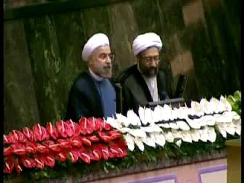 New Iran President Hassan Rouhani Swear-in ceremony