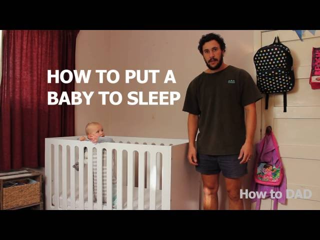 Easy method to put a baby to sleep