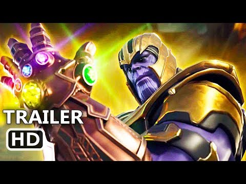 "FORTNITE ""Thanos & Infinity Gauntlet"" Trailer (NEW 2018) Video Game HD"