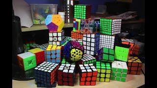 My Entire Rubik's Cube Collection! [140+ Puzzles]