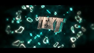 FREE Colourful 3D SYNC After Effects & Cinema 4D Intro Template #529 + Tutorial