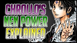 Explaining Chrollo's Nen Ability: Bandit's Secret