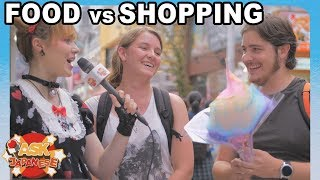 JAPAN FOOD vs SHOPPING! What do foreigners in Japan prefer?