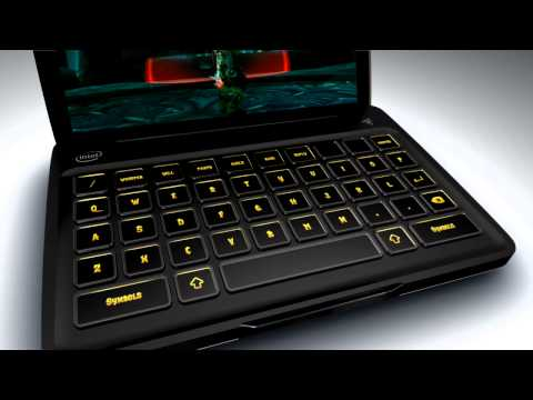 Thumb Razer Switchblade, laptop with special keyboard for PC Gaming