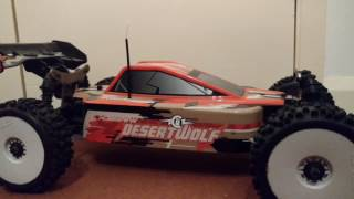RC Desert wolf buggy review.