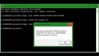 How to Activate Windows 10 Insider Build 10240 using Command Prompt