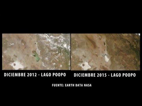 El Lago Poopó desaparece (Bolivia)