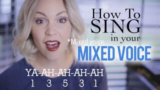 How to Sing: Mixed Voice