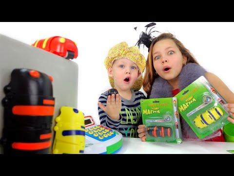 Игрушки для детей. Покупаем гусеницу Магна!