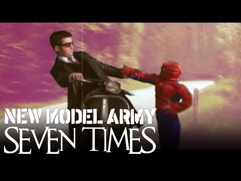New Model Army seven Times Official Music Video - The New Album between Dog And Wolf Out Now video