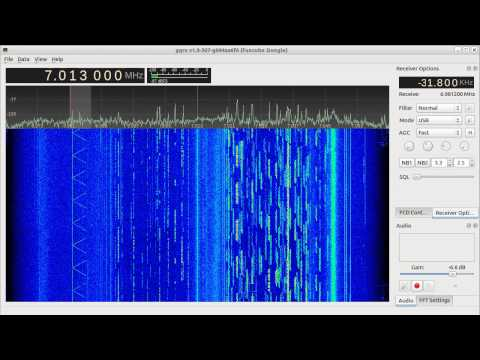 Mystery whistle signal on 40 meter band