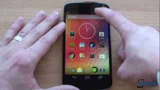 Nexus 4 Unboxing and First Impressions