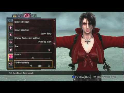 Soul Calibur V Creation - Ada Wong - Resident Evil 6