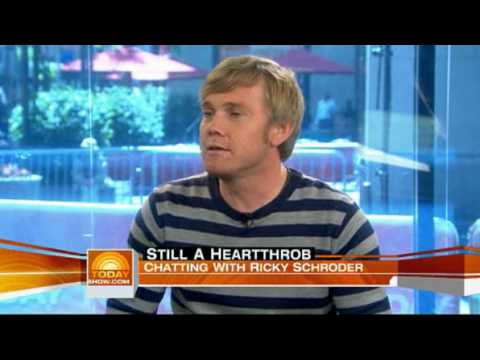 today show, chatting with ricky schroder