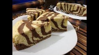 চুলায় তৈরী জেব্রা কেক।Zebra cake recipe||How to make Zebra cake| Bangladeshi style zebra cake recipe