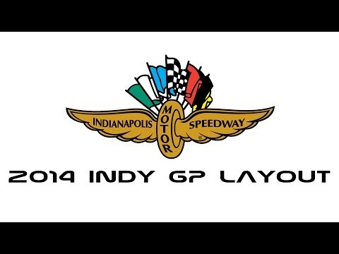 Indianapolis Motor Speedway - Indy GP 2014 Layout
