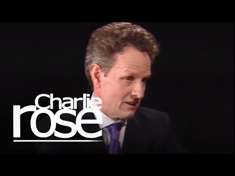 Timothy Geithner, U.S. Treasury Secretary | Charlie Rose