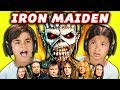 KIDS REACT TO IRON MAIDEN (Metal Music) -