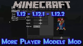 More Player Models Mod (Personaliza tu personaje) - Review e Instalacion - |1.12|1.12.1|1.12.2|
