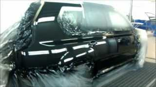 Покраска пятном авто своими руками