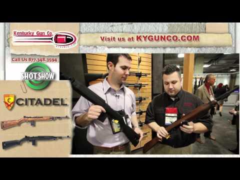 SHOT Show 2012 - Citadel M-1 .22LR Rifle Review