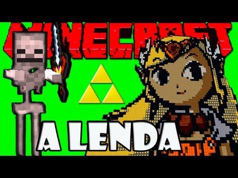 MINECRAFT: Link o Heroi Lendário