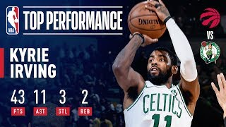 Kyrie Irving Leads the Way With 43 Points & 11 Assists Vs. The Raptors   November 16, 2018