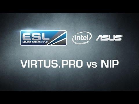 Finał CS:GO - Virtus.Pro Vs NIP (BO3) - ESL One Katowice 2014