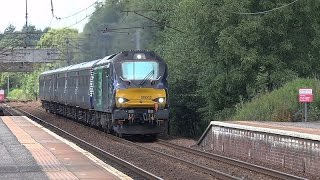 A two day stint at Holytown, Coatbridge, Motherwell & Bellshill aka Class 68 Bonanza! 14 15 July 201