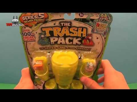 The Trash Pack Series 5 Sewer Trash 12 Pack Review and Opening