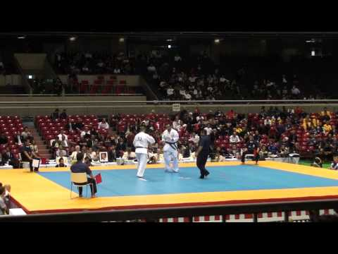 Djema Belkhodja vs Nathan Goodin @ 10th World Open Kyokushin Karate Tournament Image 1