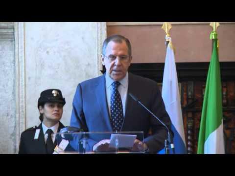 Пресс-конференция С.Лаврова и П.Джентилиони | Press-Conference of Sergey Lavrov & Paolo Gentiloni