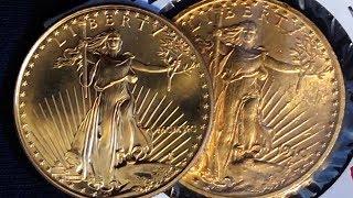 American Gold Eagle & Gold Double Eagle: A Comparitive Study