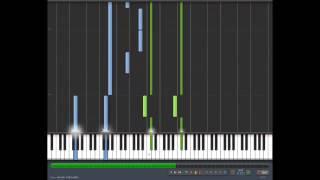 Kore wa Zombie desu ka - Sangeki no kioku - Piano tutorial (Synthesia)