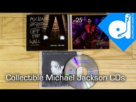 Collectible Michael Jackson CDs - TDMAS